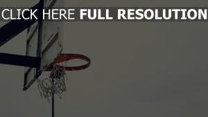 alt basketballbrett basketballkorb