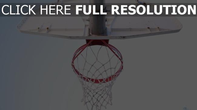 hd hintergrundbilder netz basketball basketballkorb