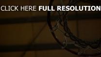 netz kreis basketballkorb