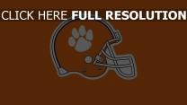 clemson tigers logo amerikanischer fußball