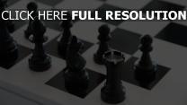schachbrett schwarz-weiß figur schach