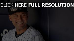 lächeln derek jeter baseball