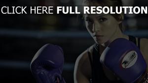 boxen handschuhe sport mädel