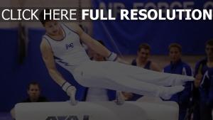 sport mann gymnastik