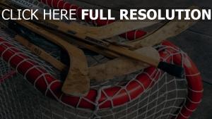 hockey tor hockeyschläger
