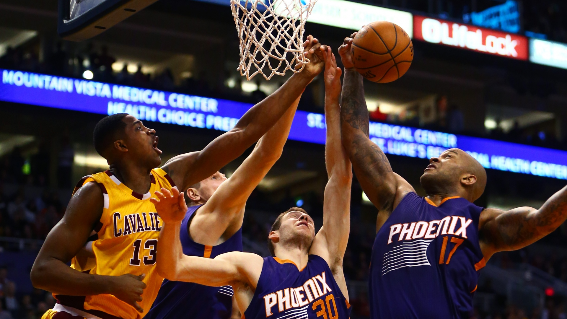 hd hintergrundbilder phoenix suns basketball los angeles lakers 1920x1080