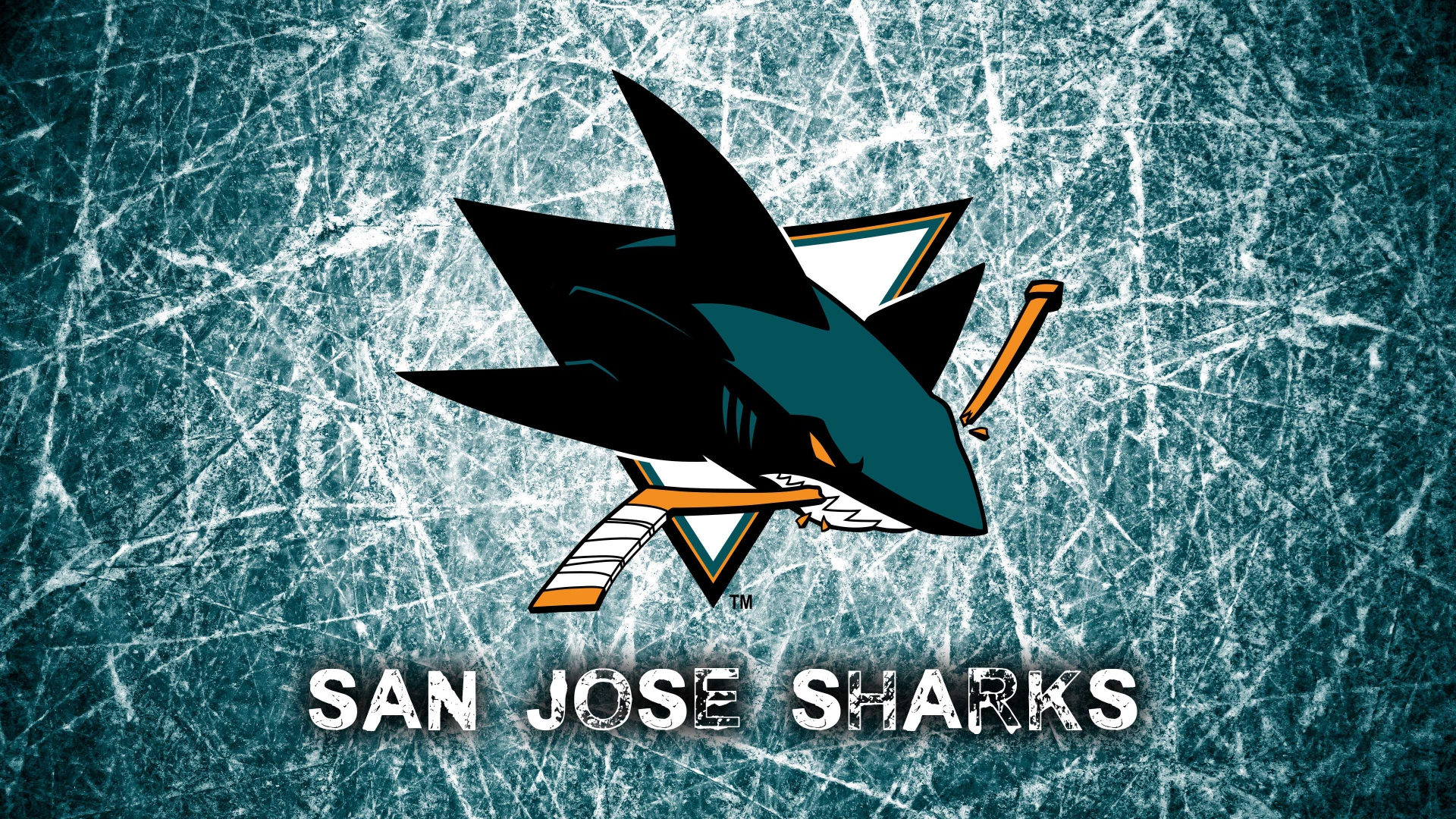 hd hintergrundbilder logo national hockey league san jose sharks 1920x1080