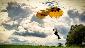paragliding gleitschirm fliegen