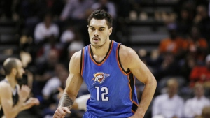 oklahoma city thunder steven adams basketball