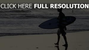 bali surfen surfer strand