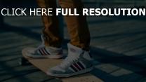 skateboarding, adidas neo, sneakers