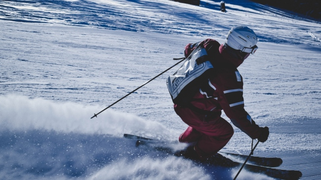 hd hintergrundbilder berg skifahrer schnee skifahren