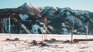 schnee berg winter skifahren