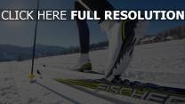 schnee sport ski
