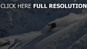 berge snowboarder schnee