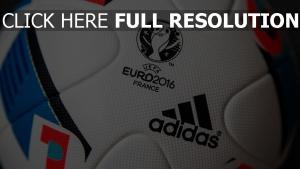 euro 2016 ball fußball frankreich uefa