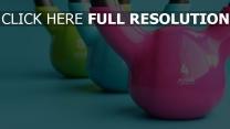 fitness-studio hell sport gewichte