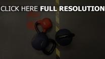 farbe sport gewichte