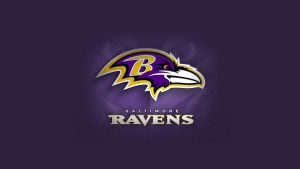 amerikanischer fußball logo baltimore ravens