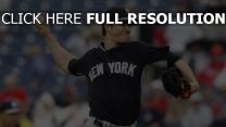 new york yankees brian mitchell baseball