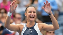tennisspieler flavia pennetta sportlerin lächeln