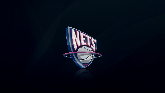 hd hintergrundbilder logo new jersey nets nba basketball