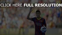 barcelona fußball sportler neymar