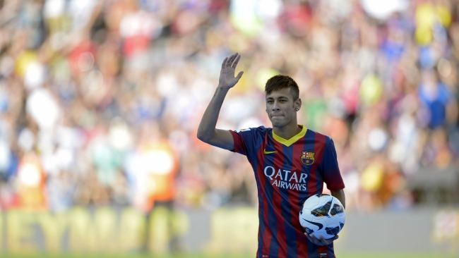 hd hintergrundbilder barcelona fußball sportler neymar