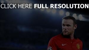wayne rooney fußballer manchester united