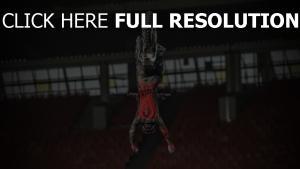 stunt sprung motorrad sport