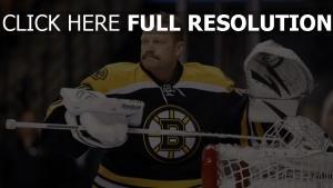 hockey tim thomas torwart boston bruins