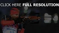 sotchi 2014 biathlon russland anton shipulin xxii olympischen winterspiele