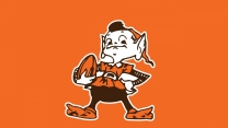 cleveland browns amerikanischer fußball logo