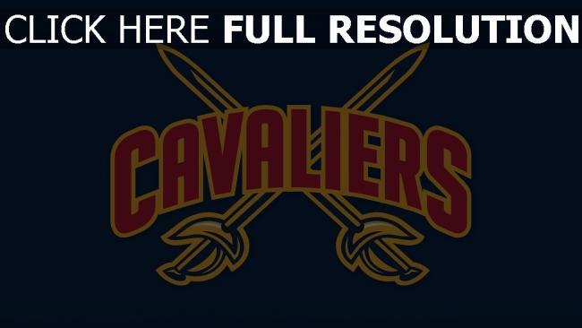 hd hintergrundbilder cleveland cavaliers logo basketball