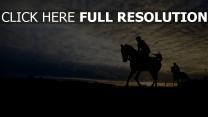 pferderennen silhouette himmel pferd belmont stakes