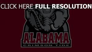 alabama crimsontide logo alabama amerikanischer  fußball