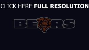 fußball team chicago bears logo