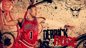 derrick rose chicago bulls basketball