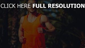 athlet leichtathletik laufen sport mann