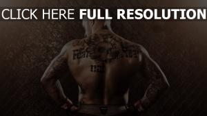 tattoos mixed martial arts sportler mma
