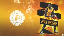 paul george basketball pacers nba indiana