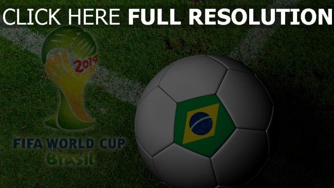 hd hintergrundbilder ball fifa 2014 brasilien weltcup fußball