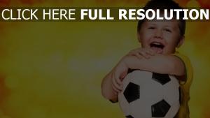 fifa fußball brasilien ball fan kind