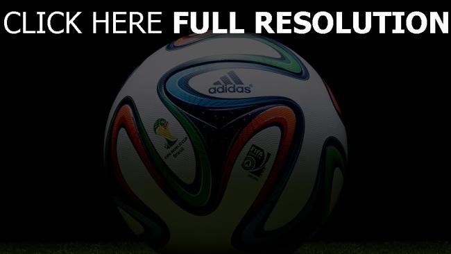 hd hintergrundbilder ball weltcup adidas fußball brazuca