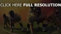 sport spieler amerikanischer fußball spiel