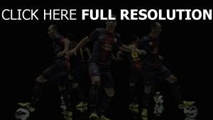 barca fc barcelona nike iniesta sport fußball