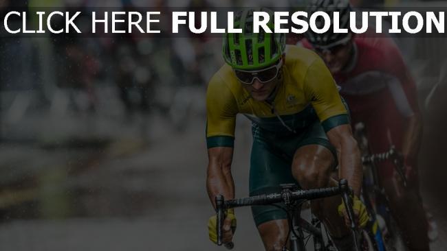 hd hintergrundbilder rennen sportler helm fahrrad