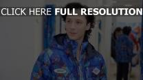triple-champion eiskunstläufer eiskunstlauf johnny weir