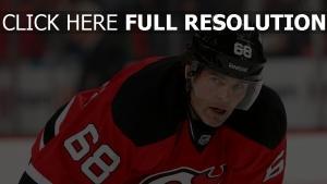 new jersey devil stürmer jaromir jagr hockeyspieler