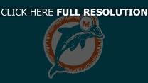 miami fußballverein miami dolphins logo